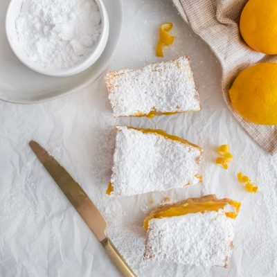 Small Batch Lemon Bars