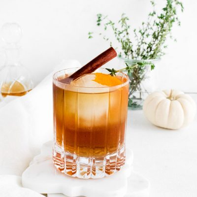 Fall Spiced Old Fashioned