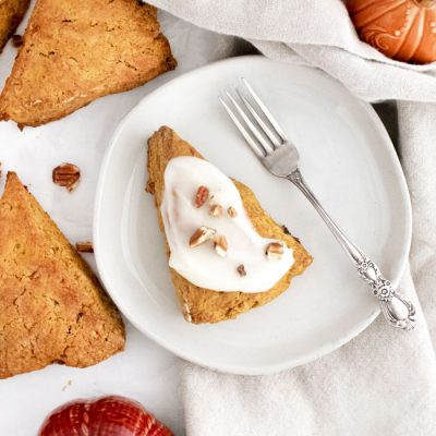Pumpkin Brown Butter Scones
